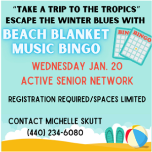 Attention seniors—We have some activities for you this month!