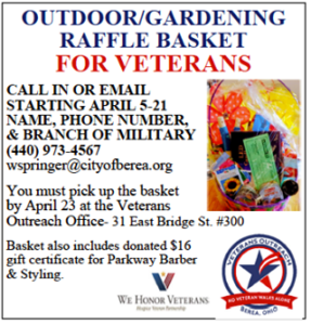 Attention military veterans: